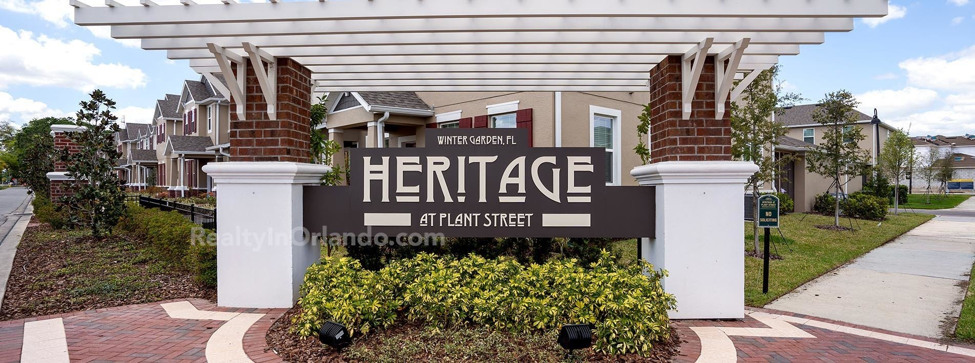 Heritage at Plant Street Winter Garden Real Estate