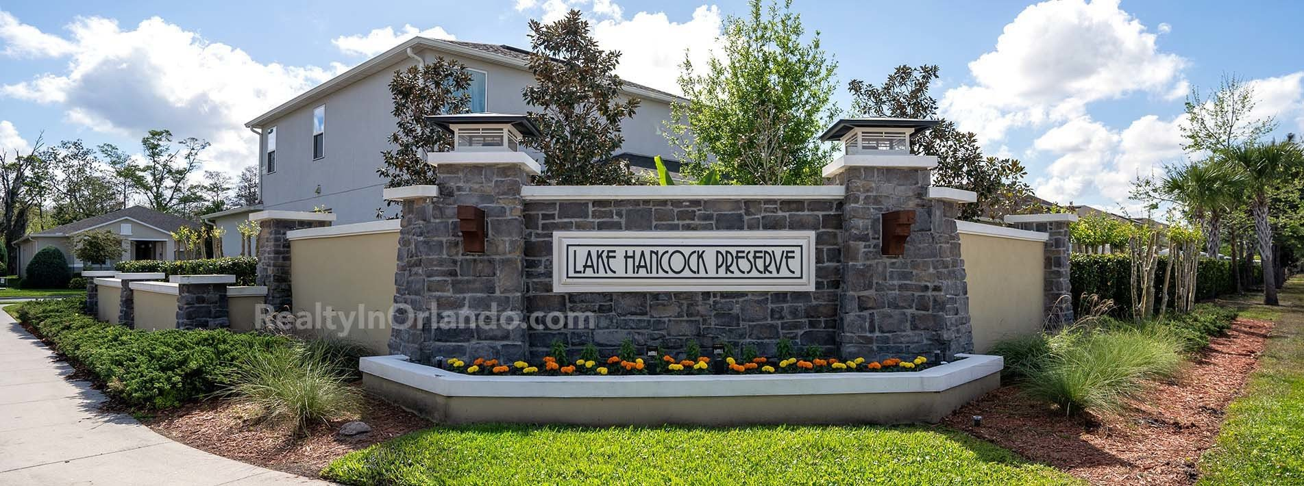 Lake Hancock Reserve Winter Garden Real Estate