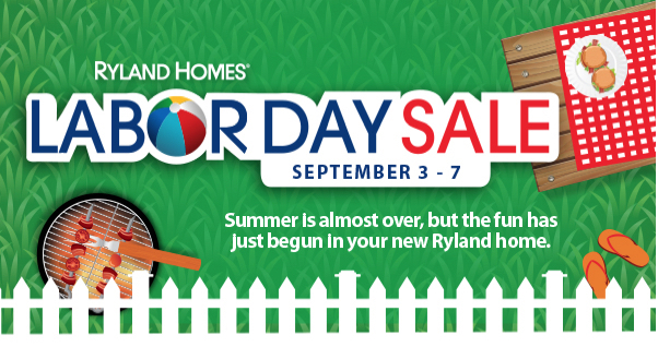 Ryland Homes Orlando Labor Day
