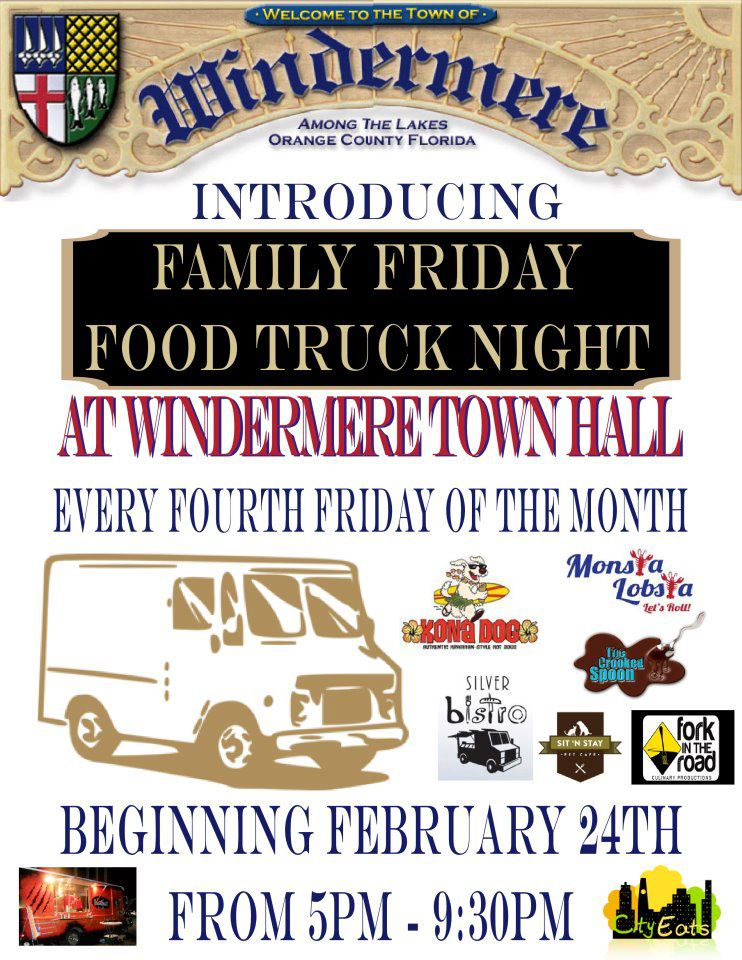 Windermere, FL Food Truck Friday's