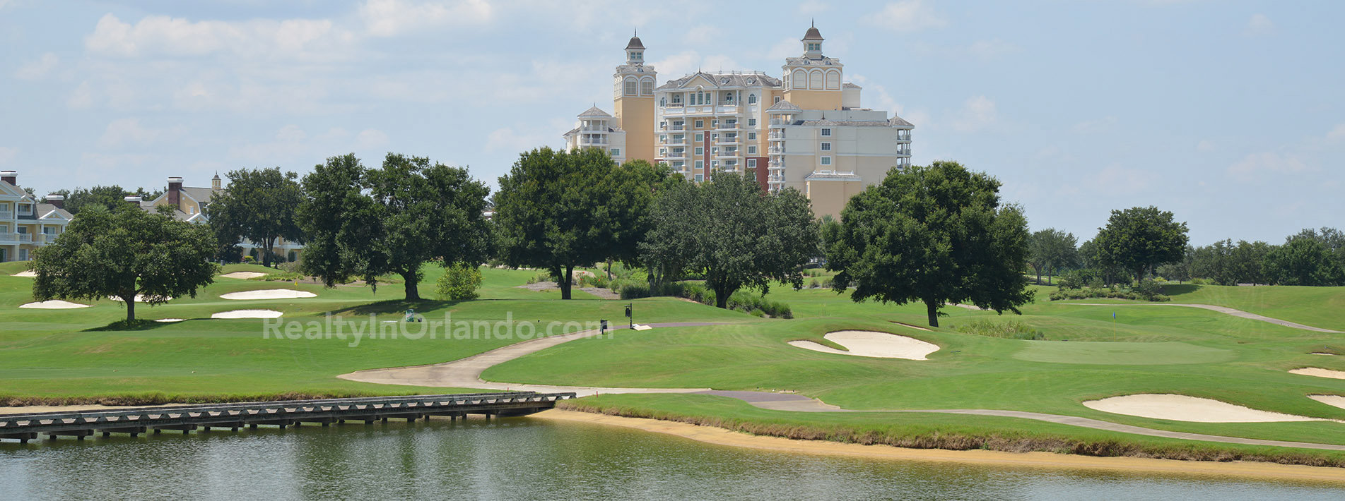 Reunion Resort Orlando Florida Golf Course